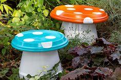 DIY Garden ?Mushrooms