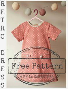 Free Retro Dress Pattern