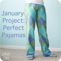 Creating the Perfect Pajama Pants