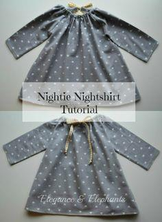 Nightie Nightshirt Tutorial