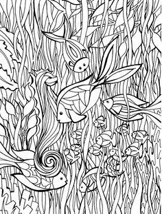 100 Coloring Pages For Adults - CraftFreebies.com