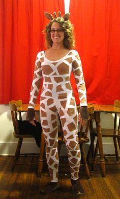 Inexpensive Giraffe Costume