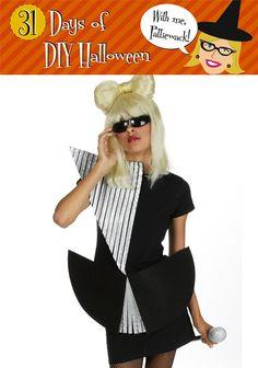 Lady Gaga Costume tutorial