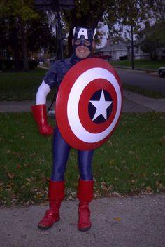 Captain America Halloween Costume