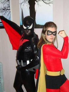 DIY Robin and Batman Beyond