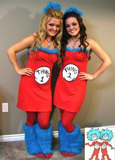 Thing 1 & Thing 2 Costume