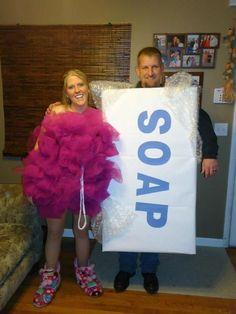 LOOFHA & BAR OF SOAP COSTUME!