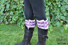 Twisted Treasures Free Crochet Boot Cuff