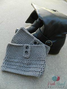 Free Crochet Boot Cuff Pattern