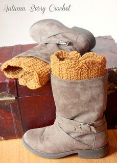 the ultimate cozy boot cuff pattern