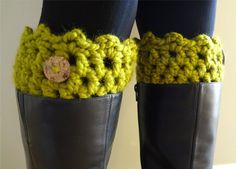 Friendship Boot Cuffs from Fiber Flux