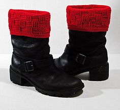 Basketweave Boot Covers