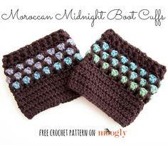 Moroccan Midnight Boot Cuffs