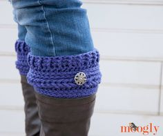 Ups and Downs Boot Cuffs