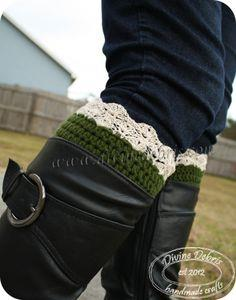 Eva Boot Cuffs Pattern