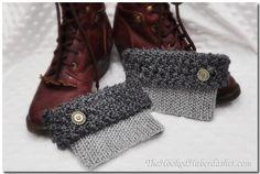 Free Pattern City Girl Boot Cuffs