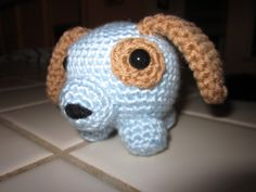 Roly Dog Crochet Pattern