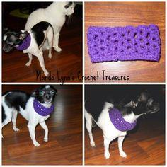 Lacy Cowl for Pup