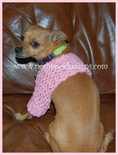Small Dog Shrug Crochet Pattern