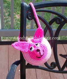 Little Chihuahua Purse Crochet Pattern