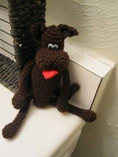 Free Great Dane Amigurumi