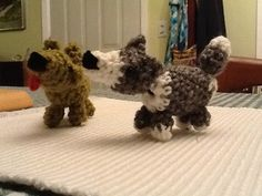 Amigurumi puppies