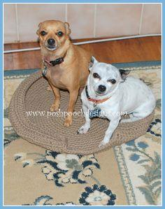 Dog Bed Crochet Pattern
