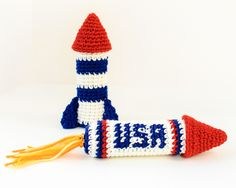 Rocket Ship Crochet Patterns
