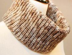Knit Crochet Cowl Pattern