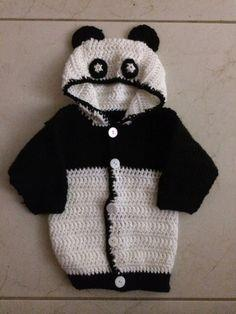 Hooded Baby Panda Sweater