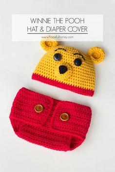 Winnie The Pooh Inspired Hat