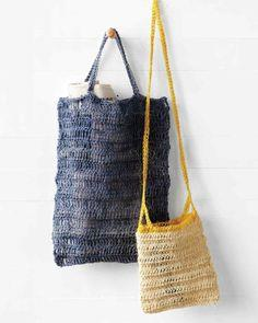 Crocheted Natural Summer Bag
