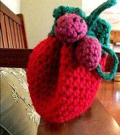 Strawberry Trinket Pouch