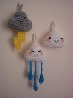 Cloud Amigurumi Pattern