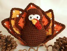 Thanksgiving Turkey Crochet Pattern