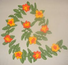 Tropical Vine Free Pattern