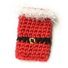 Santa Crochet Gift Card Holder Pattern