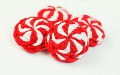 Peppermint Candies Christmas Crochet