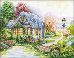 Free cross stitch pattern Home Sweet Home