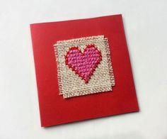 DIY Cross-Stitched Card