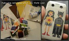 Stitch Your Own Cell Phone Case