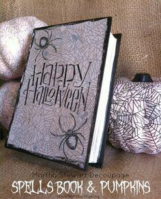 Spells Book and Pumpkins