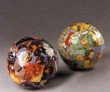 Comic Wrapped Decorative Balls