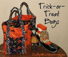 Trick-or-Treat Bags Pattern