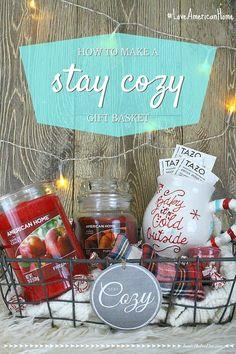 Stay Cozy Gift Basket