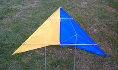 Fabric stunt kite