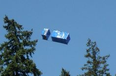 TARDIS Box Kite