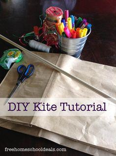 How to Make a Paper-Bag Kite