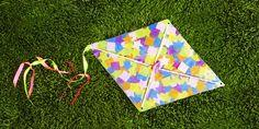 A Two-Step Homemade Kite