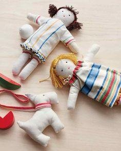 Tea Towel Doll Pattern